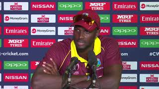 Post Match Press Conference - Jason Holder - 25 March 2018