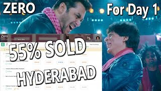ZERO Movie 55 Percent Tickets SOLD OUT In Hyderabad In 2 Days