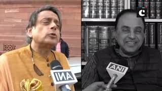 Subramanian Swamy slams Shashi Tharoor over Triple Talaq Bill