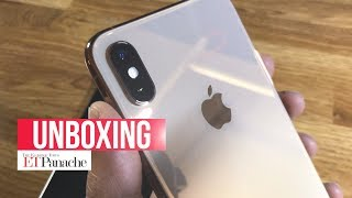 iPhone XS & XS Max: Unboxing And First Impression | India Units | Gold | ETPanache