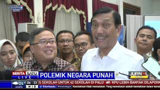 Prabowo Sebut Indonesia Akan Punah, Luhut: Jangan Asal Ngomong