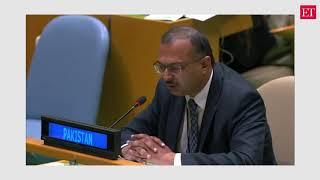 Pak brings in RSS, Yogi Adityanath to attack India at UN