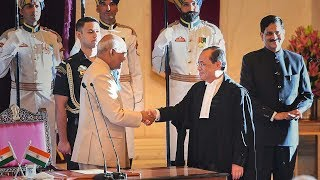 Justice Ranjan Gogoi sworn in as 46th Chief Justice of India