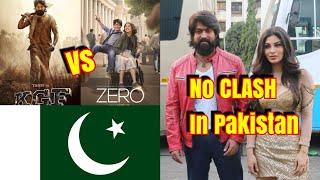 KGF Wont Clash With ZERO Movie In Pakistan Due To This Reason