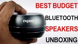 Best budget Bluetooth speaker Rapoo | Unboxing Telugu