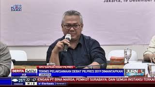 KPU Sepakati Debat Pertama Pilpres 2019