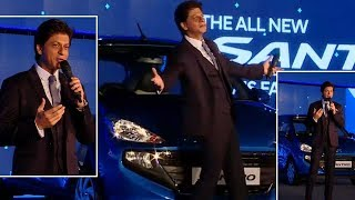 New Santro launch: Shah Rukh Khan reminisces about his 20-year Hyundai journey