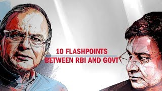 10 flashpoints between the RBI and government | Economic Times