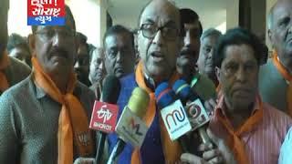 મોરબી-BJP દ્વારા રાફેલ મામલે કોંગ્રેસ મુદ્દે આવેદન