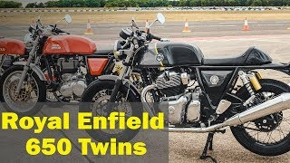 Royal Enfield Twins: Interceptor 650 & Continental GT 650 price revealed in India