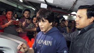 Shahrukh Khan Watches ZERO Film With Media | Special Screening