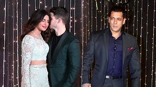 Salman Khans Grand Entry At Priyanka And Nick Jonas Wedding Reception