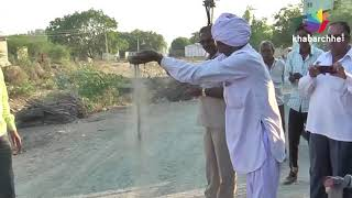 BJPના શાસનમાં કોન્ટ્રાક્ટરો બેફામ, રસ્તાના કામોમાં સિમેન્ટનું મટીરિયલ જ ગાયબ