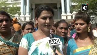 Transgender community holds protest against Transgender Bill in Kalaburagi