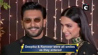 Priyanka-Nick Reception: Deepika-Ranveer look breathtaking as they arrive; check out the stars entry