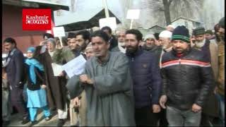 NC Holds Protest Rally in Baramulla against Civilian Killings .Report by Rezwan Mir