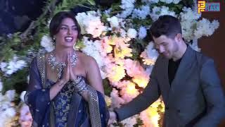 Priyanka Chopra - Nick Jonas Grand Wedding Reception In Mumbai