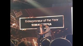 ReNew Power's Sumant Sinha gets 'Entrepreneur of the Year'   ET Awards 2018