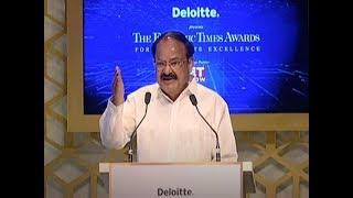 VP Naidu calls for global response against economic offences   ET Awards 2018
