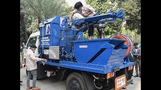 Watch: Mechanised scavenging system in India on World Toilet Day