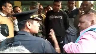 कश्मीर के संमजाल मांजरा के शहीद अजय कुमार को सभी ने नम आंखो से दी विदाई ।