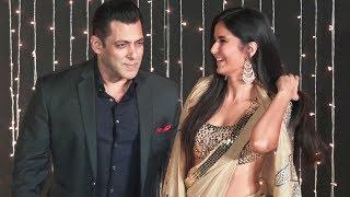 Salman Khan And Katrina Kaif At Priyanka-Nick Jonas Wedding Reception