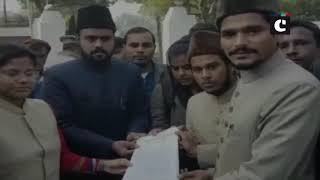 AMU students take out protest march against civilian killings in J&K