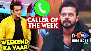 Sreesanth Gets Call From Appy Fizz Caller Of The Week | Weekend Ka Vaar | Bigg Boss 12 Latest Update