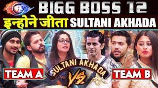 This Team WON LAST Sultani Akhada Of Bigg Boss 12   Sreesanth Team Vs Karanvir Team