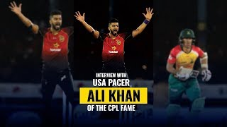 Interview- USA cricketer Ali Khan - Struggles, Playing CPL, IPL contract with KKR and more