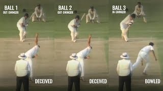Ranji Trophy- Irfan Pathan brilliantly sets up a batsman with his swing bowling