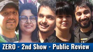 ZERO - PUBLIC REVIEW - 2nd Show - Shah Rukh Khan, Anushka Sharma,Katrina Kaif
