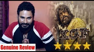 KGF Kannada Movie Genuine Review | Yash | Srinidhi Shetty | Prashanth Neel | Vijay Kiragandur