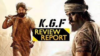 KGF Movie Review Report - 2018 Latest Movie Review Report - Yash, Srinidhi Shetty