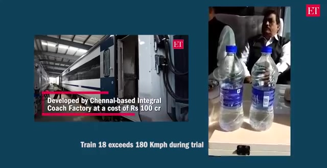 Train 18 breached the 180 Kmph speed limit during a test run
