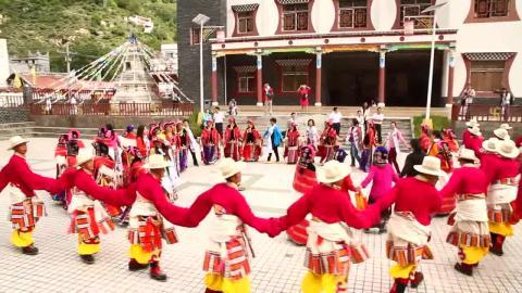 The Tibetan dance of love