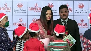 Aishwarya Rai Bachchan Celebrating Christmas With Cancer Patients Aid Association