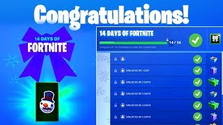 Day 4 REWARD - Hit a Player with a Snowball in Different Matches - 14 Days of Fortnite Challenges