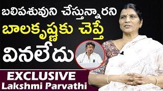 Lakshmi Parvathi Shocking Comments About Balakrishna | Lakshmi Parvathi Interview | Top Telugu TV |