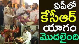 KCR Raja Syamala Yagam In Vizag | KCR Yagam | KCR AP Visit | Top Telugu TV |