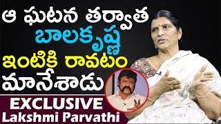 Lakshmi Parvathi Reveals Secret About Balakrishna | Lakshmi Parvathi Interview | Top Telugu TV