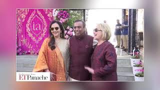 Isha-Anand's pre-wedding event: Ambanis receive Hillary Clinton   ETPanache