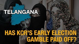 Telanganaa Elections 2018: Has KCR's early election gamble paid off?