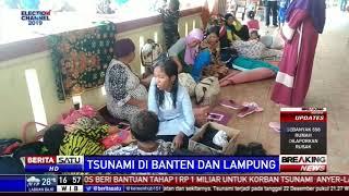 Pasca Tsunami, 4 Kecamatan di Lampung Selatan Rusak Parah