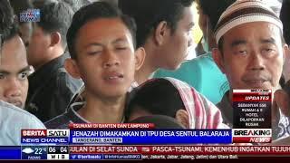 Haru Menyelimuti Prosesi Pemakaman Kakak Beradik Korban Tsunami Selat Sunda
