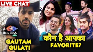 Gautam Gulati LIVE CHAT Reveals What He Will Do In Bigg Boss 12? | Sree Dipika KV Deepak Romil