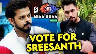 Shivashish Mishra VOTE APPEAL For Sreesanth | Make Sreesanth WINNER | Bigg Boss 12
