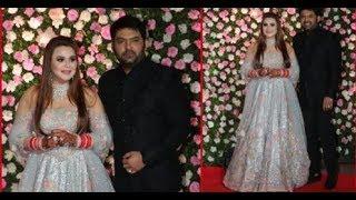 Kapil Sharma and Ginni Chatrath look DAZZLING at their wedding reception