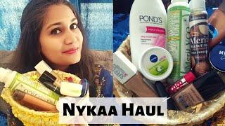 Nykaa Haul | Rs. 34 to Rs. 750 Makeup & Skincare haul | Nidhi Katiyar