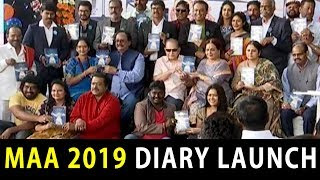 Movie Artists Association(MAA) Diary 2019 Launch | Release of MAA Diary for 2019 Press Meet